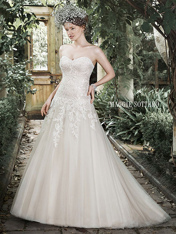 Maggie Sottero Wedding Dress Josephine