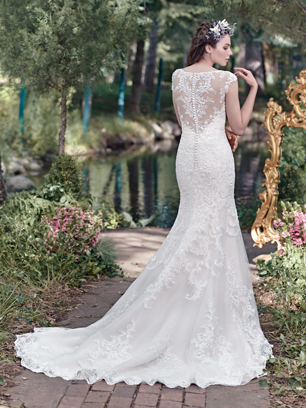 Maggie Sottero Wedding Dress Mercedes