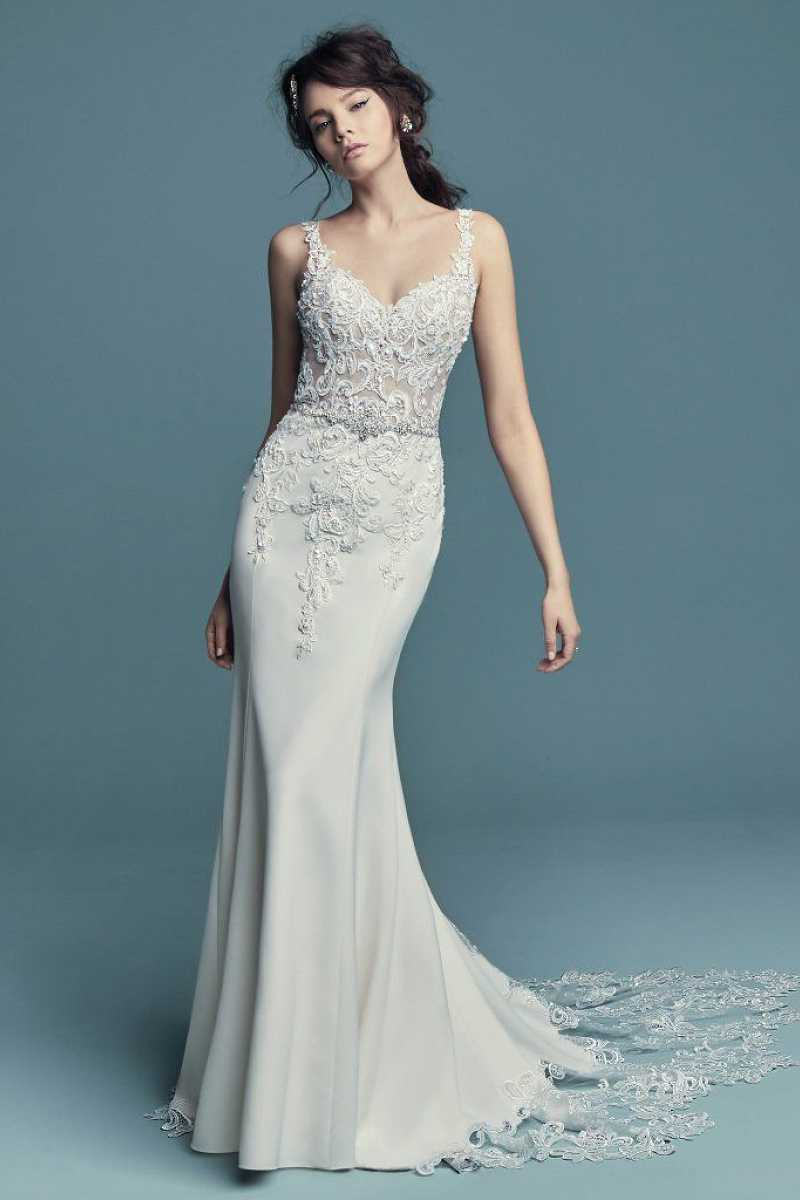 Maggie sottero alaina front