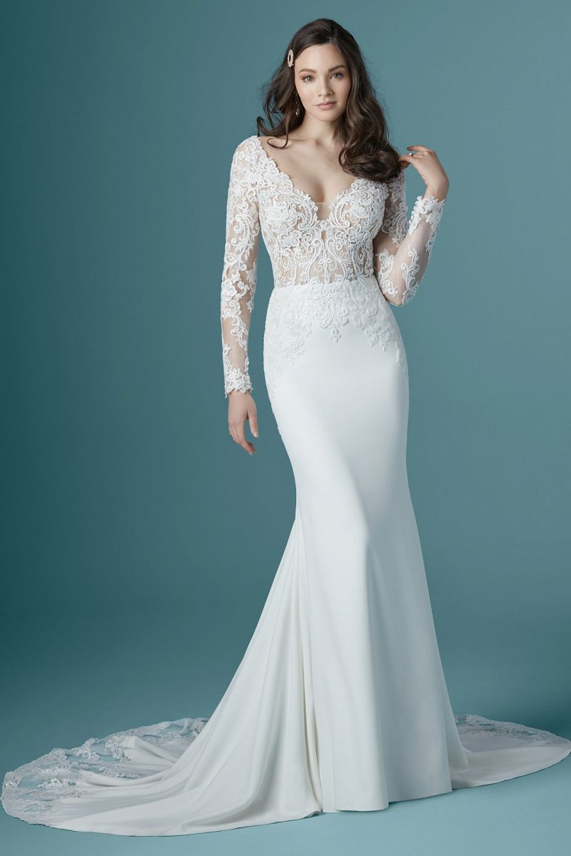 Maggie sottero althea front