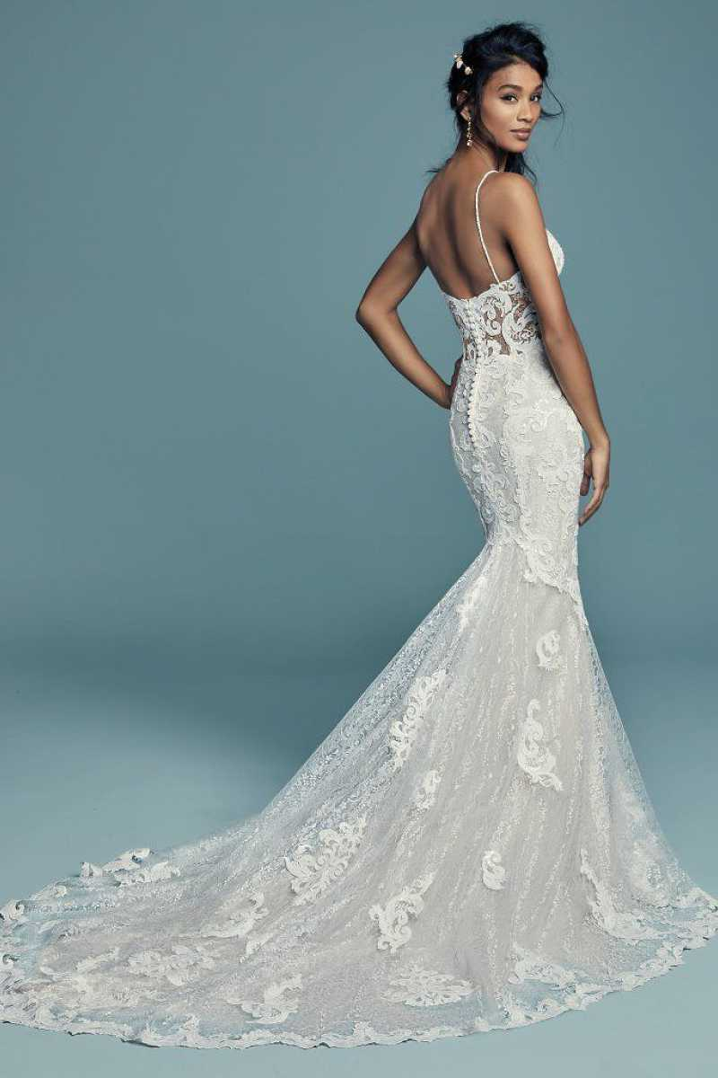 Maggie sottero tuscany lynette back