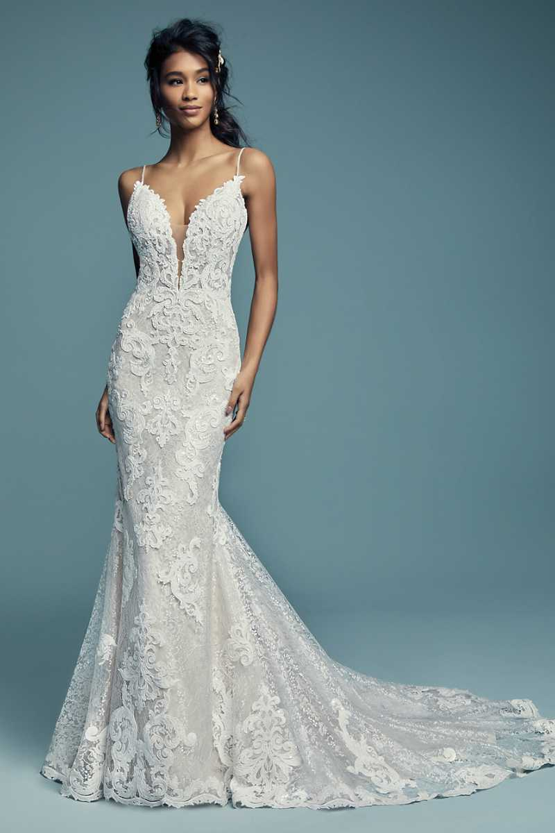Maggie sottero tuscany lynette front