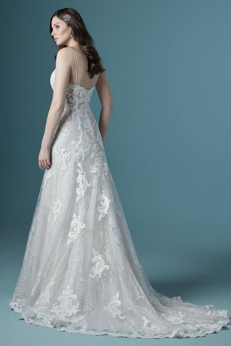 Maggie sottero tuscay lane back