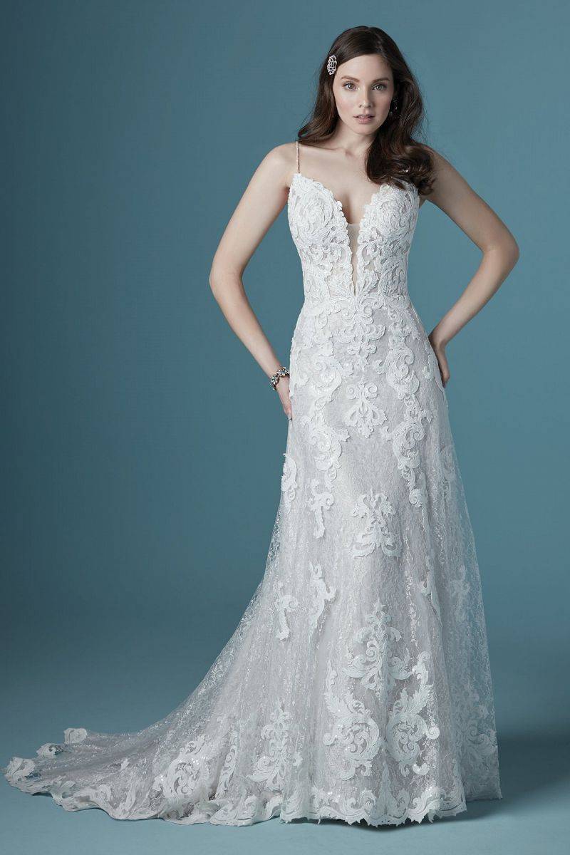 Maggie sottero tuscay lane front