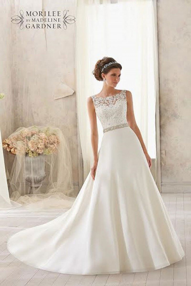 Mori lee 5204 front