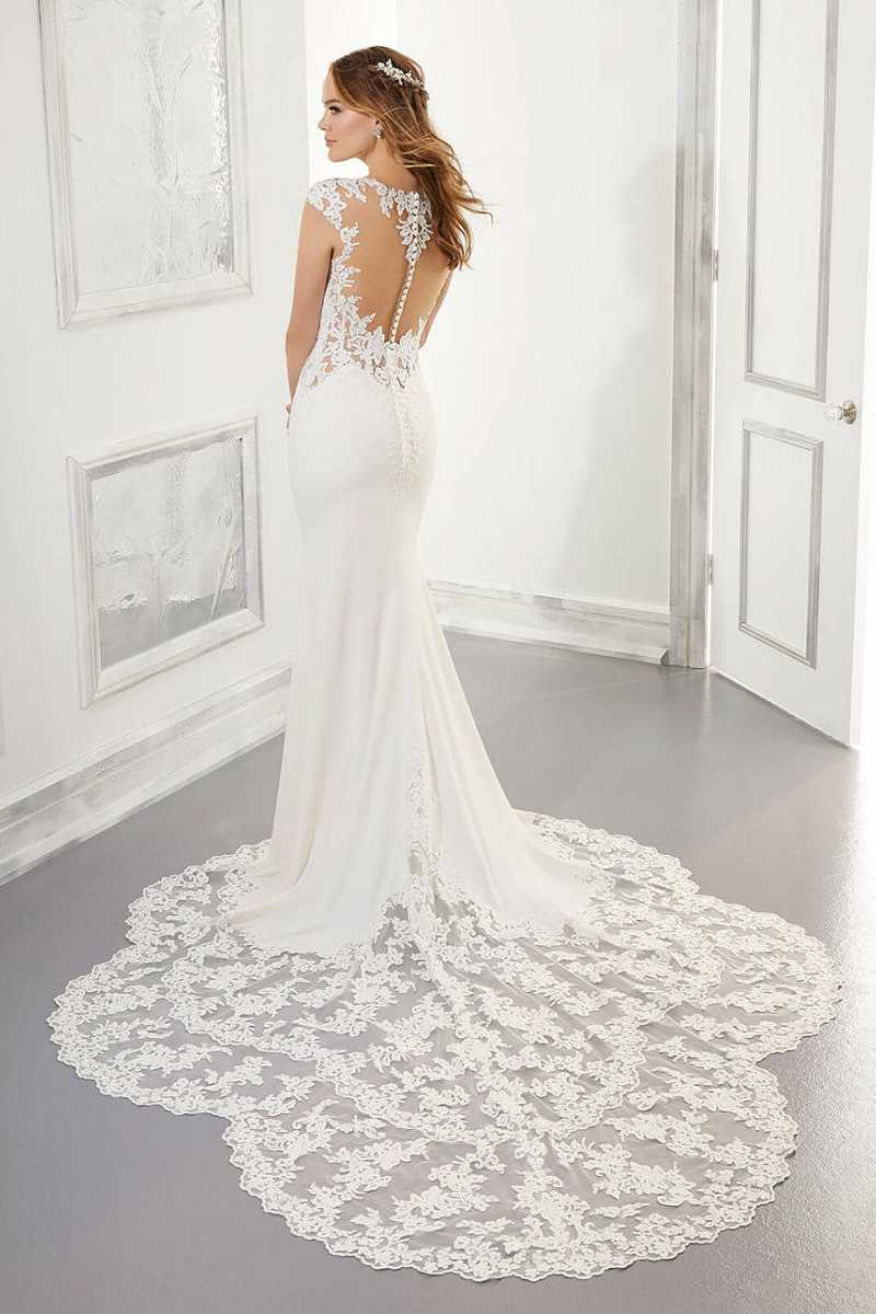 Mori Lee Aisha 5868 back