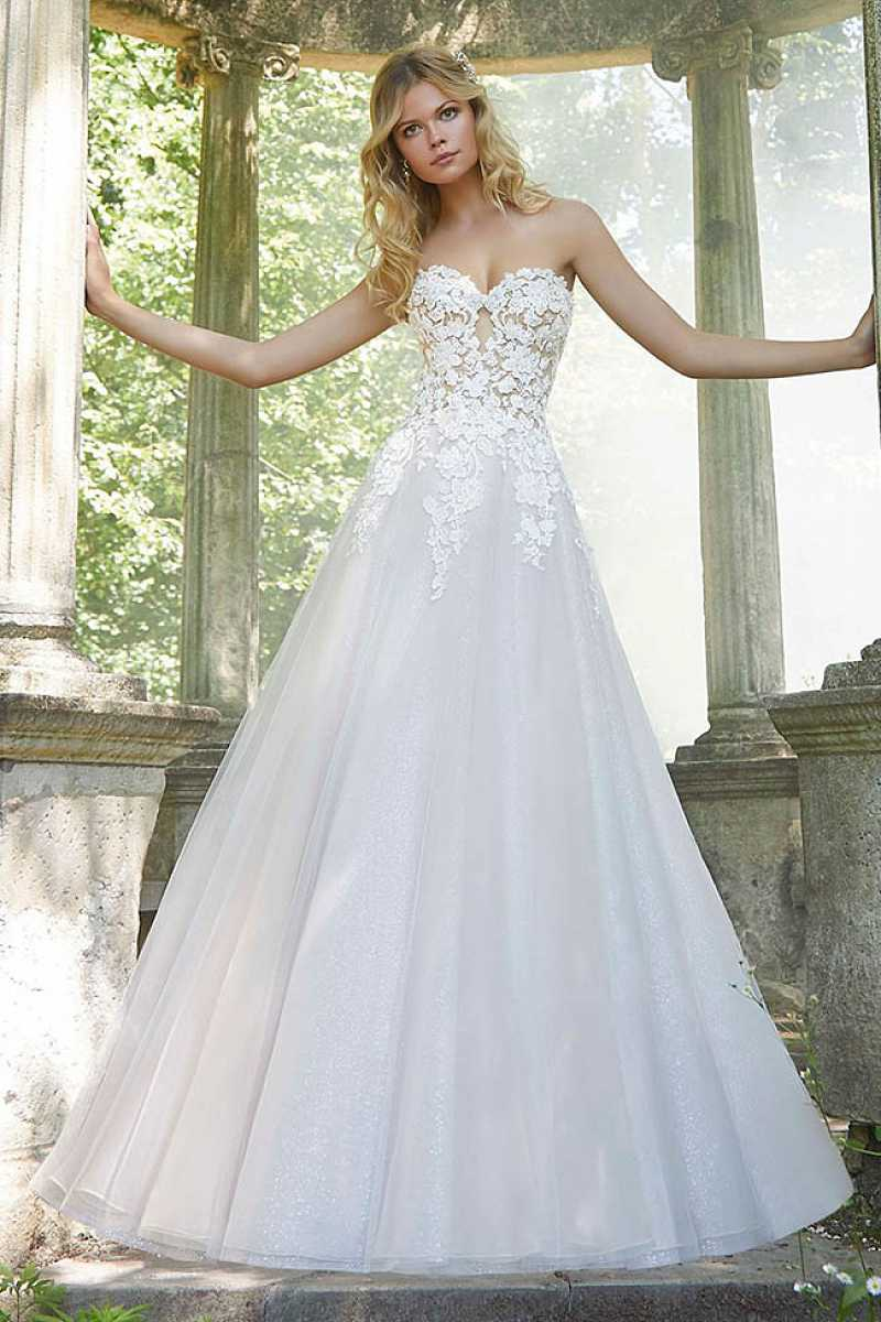 Mori lee pierette front