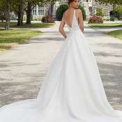 Mori lee sabrina 5809 back
