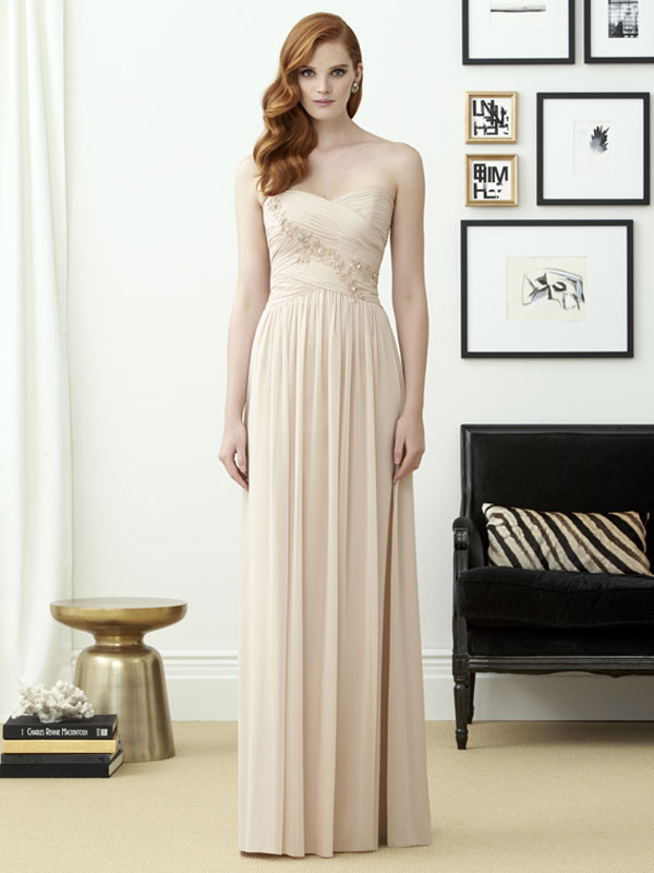 Dessy Bridesmaid Dress 2961
