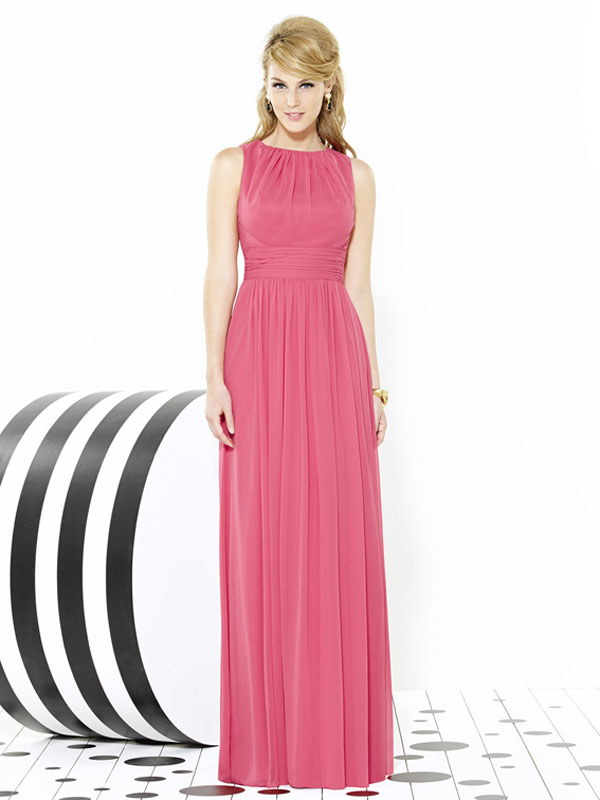 Dessy Bridesmaid Dress 6709
