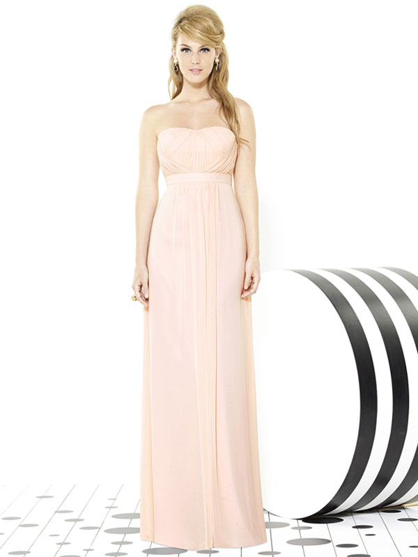 Dessy Bridesmaid Dress 6710