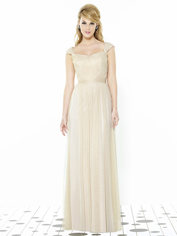 Dessy Bridesmaid Dress 6724