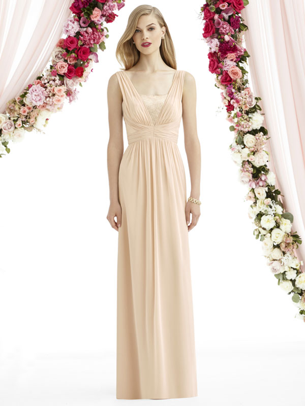 Dessy Bridesmaid Dress 6741