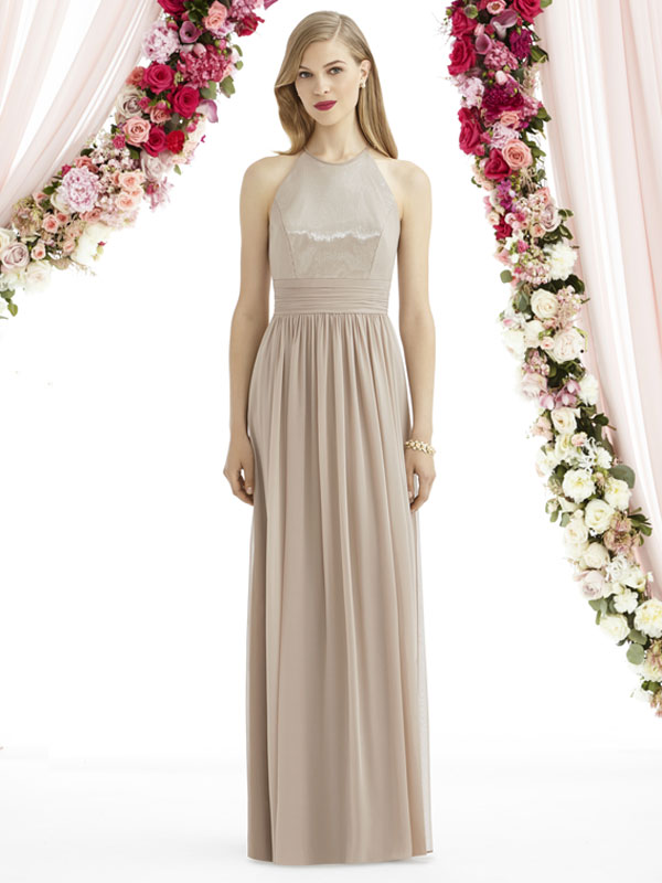 Dessy Bridesmaid Dress 6742