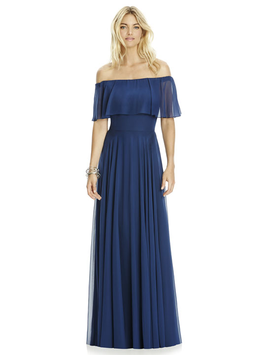 Dessy Bridesmaid Dress 6763