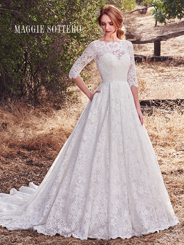 Frilly Wedding Dresses