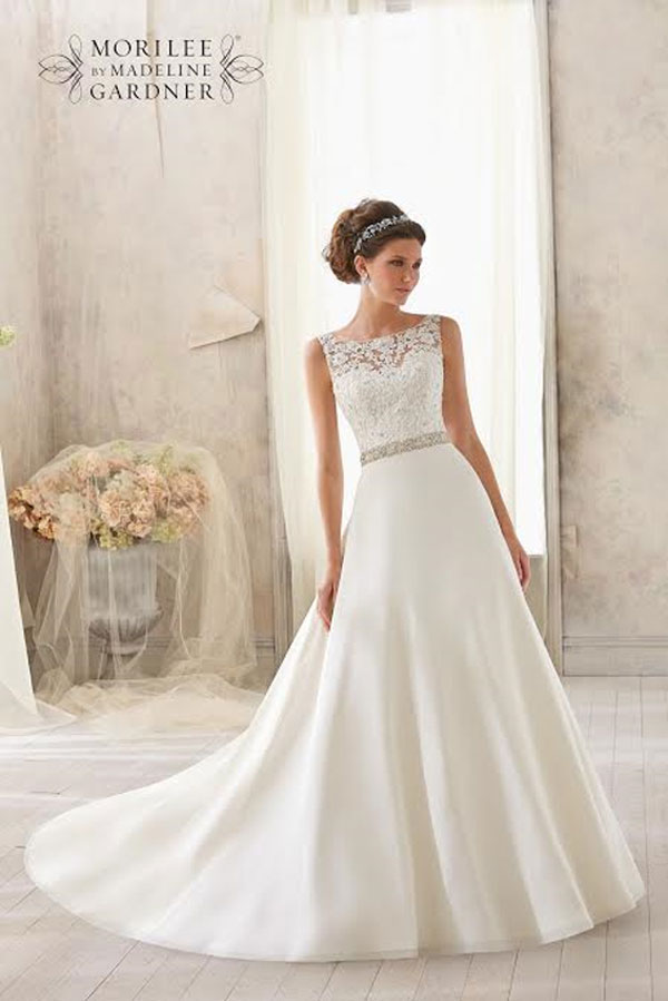 Mori Lee Wedding Gown 5204