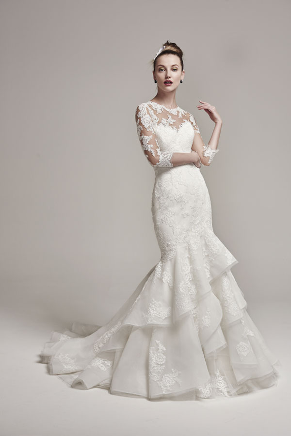 Sottero and Midgley Moriah with Bolero Wedding Dress